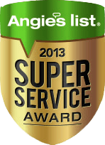 Angies List: Super Service Award 2013