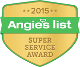 Angies List: Super Service Award 2015